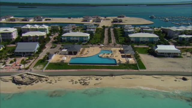 AERIAL ZO Bimini Bay Beach Resort, Bimini island, Bahamas
