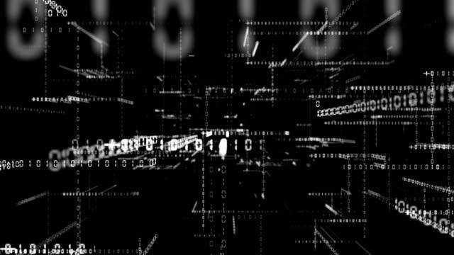 binärcode abstrakter hintergrund - text stock-videos und b-roll-filmmaterial