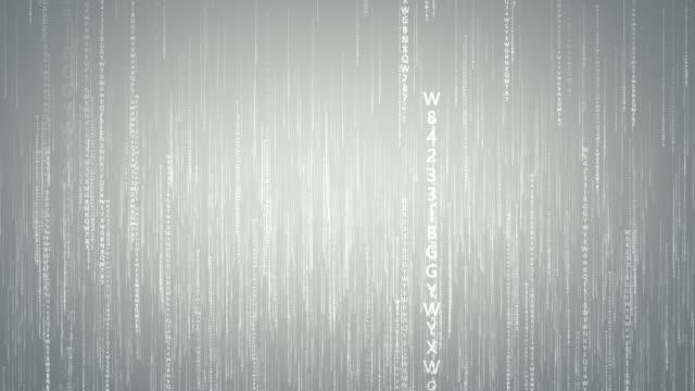 Binary Code Computer Network Concept
