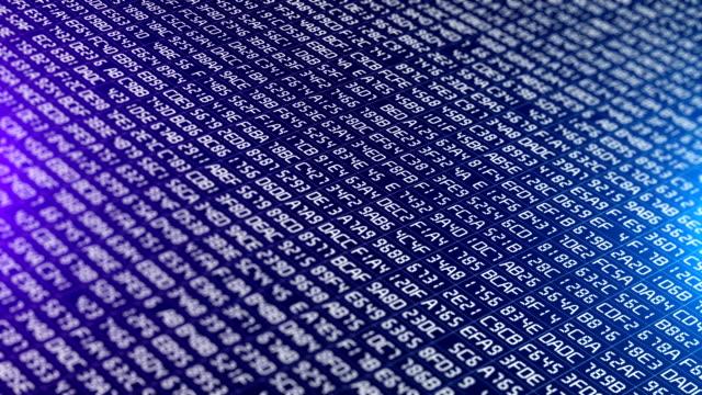 binary code data transfer, ai, cloud computing - quantum computing stock videos & royalty-free footage