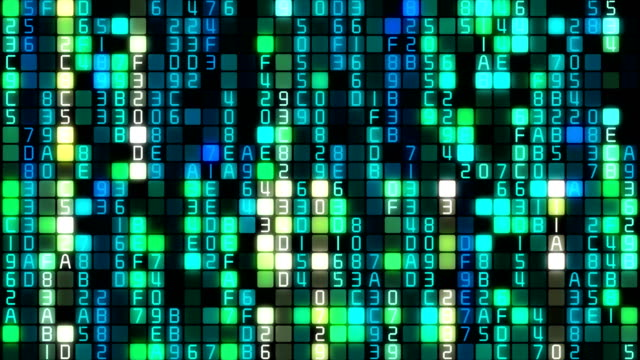 binary code data transfer, ai, cloud computing - binary code stock videos & royalty-free footage