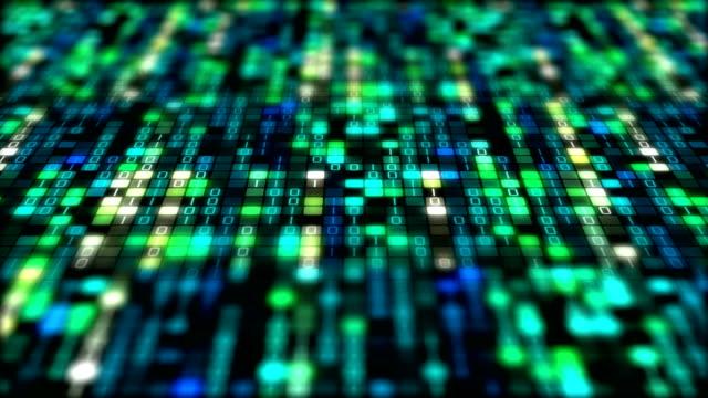binary code data transfer, ai, cloud computing - computer language stock videos & royalty-free footage