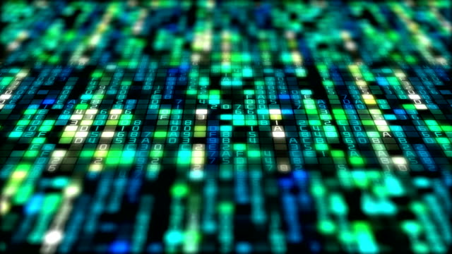 binary code data transfer, ai, cloud computing - computer language stock videos & royalty-free footage