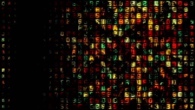 binary code data transfer, ai, cloud computing - server room stock videos & royalty-free footage