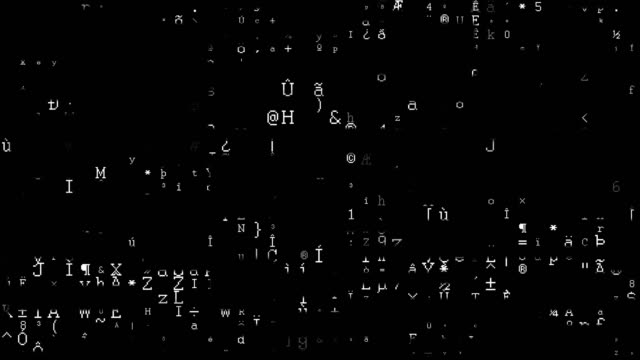 vídeos y material grabado en eventos de stock de transferencia de datos de código binario, ai, cloud computing - falso