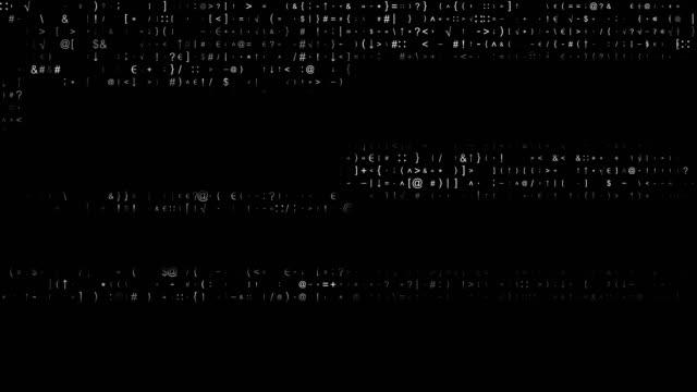 vídeos y material grabado en eventos de stock de transferencia de datos de código binario, ai, cloud computing - codificar