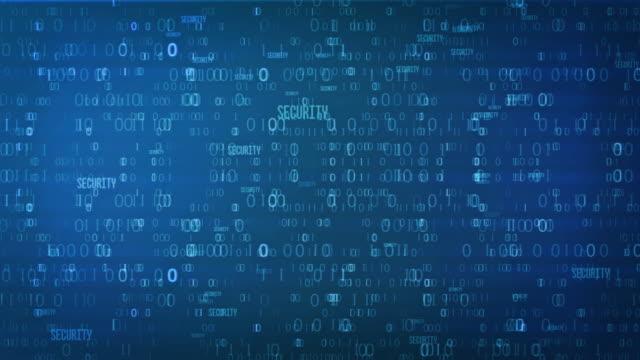 binary code - dark blue stock videos & royalty-free footage