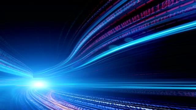 vídeos y material grabado en eventos de stock de código binario - transporte terrestre