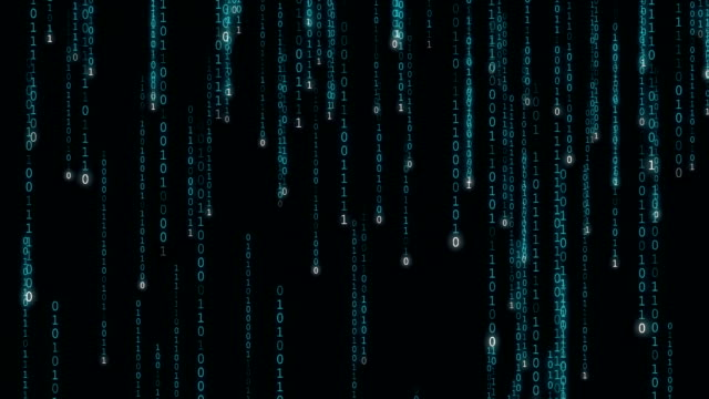 binary code - flowing stock videos & royalty-free footage