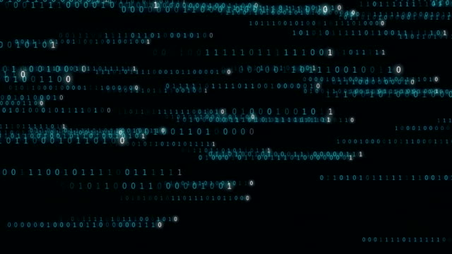 binary code - in a row stock videos & royalty-free footage