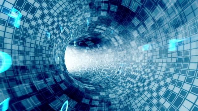 binary code - scorrere video stock e b–roll