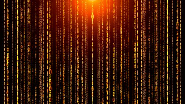 vidéos et rushes de code binaire - l'homme et la machine