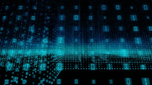 binary code - binary code stock videos & royalty-free footage