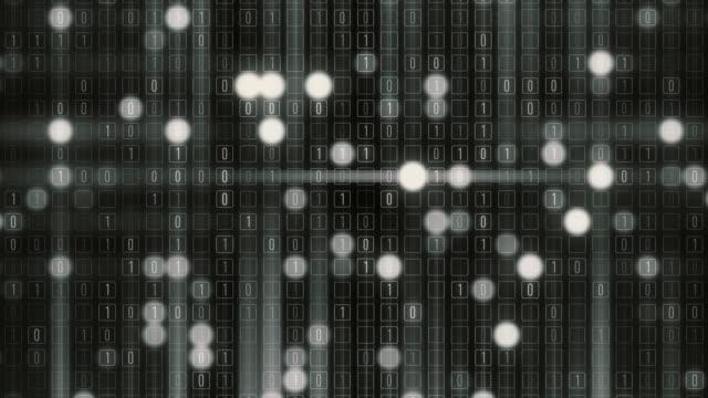 binary grid - byte stock videos & royalty-free footage