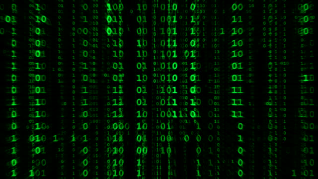 binary matrix - binary code stock videos & royalty-free footage