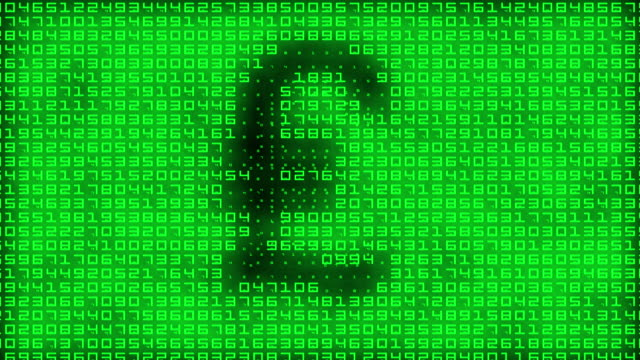 binary pound symbol - banking stock videos & royalty-free footage