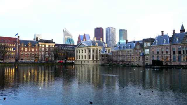 binnenhof (dutch parliament), the hague, netherlands - binnenhof stock videos and b-roll footage