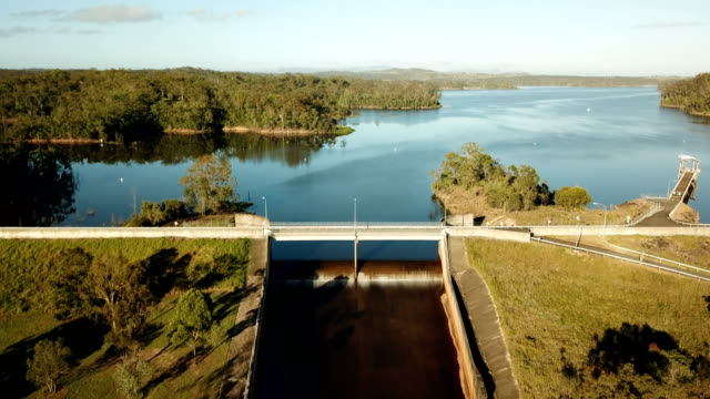 bioeconomy and rural development in australia. aerial view - hydroelectric power stock videos & royalty-free footage