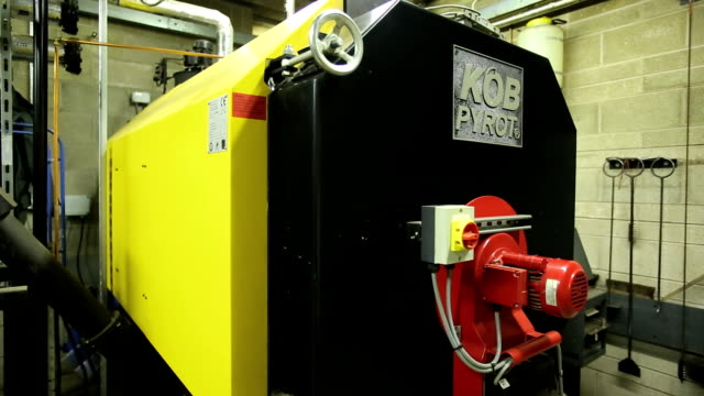 biofuel boiler - boiler stock videos & royalty-free footage