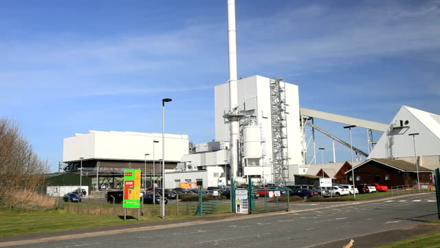 biofuel power station - galloway scotland stock videos & royalty-free footage