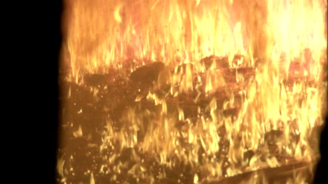 biofuels burn in a furnace. - furnace stock videos & royalty-free footage