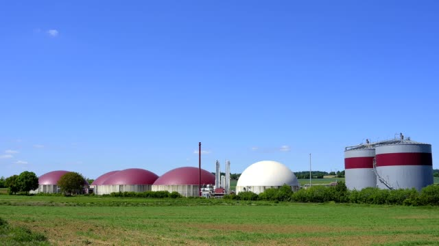 vidéos et rushes de biogas plant - gaz naturel