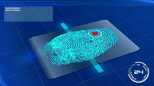 Biometric Fingerprint Scan Rejected