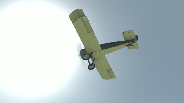バイプレーン - 複葉機点の映像素材/bロール