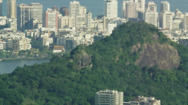 bird's eye tilt of rio de janeiro - tilt down stock videos & royalty-free footage