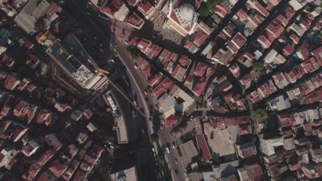 birds eye view over istanbul. turkey. - ankara stock-videos und b-roll-filmmaterial