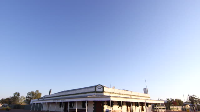 birdsville hotel - outback stock videos & royalty-free footage