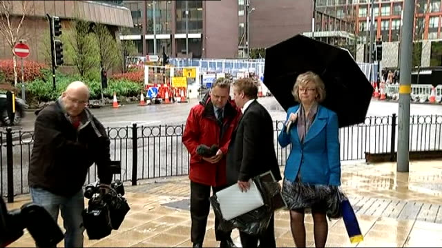birmingham pub bombings: no new inquiry: hambleton family reaction; england: west midlands: birmingham: ext julie hambleton and brian hambleton... - spokesman stock videos & royalty-free footage