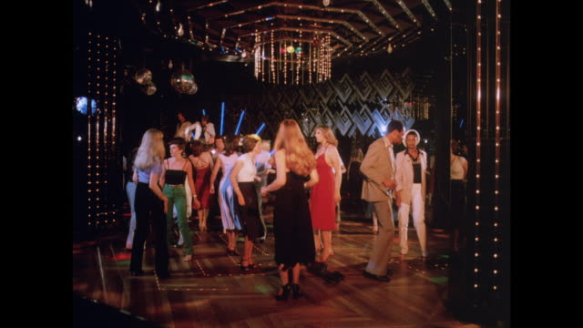 1981 - birmingham uk disco - disco dancing stock videos & royalty-free footage