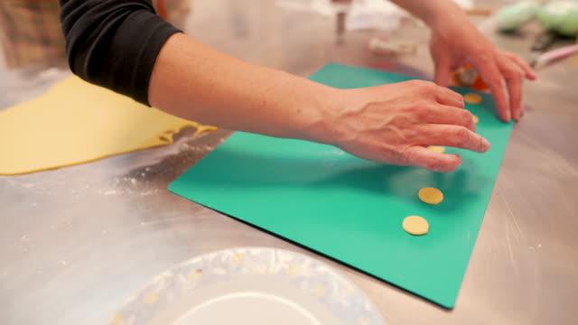 birthday cake decoration - moulding trim stock videos & royalty-free footage