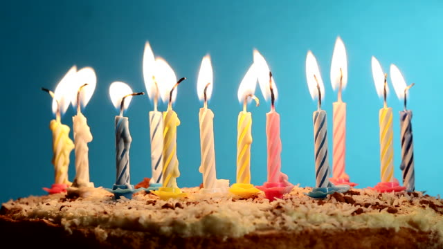 birthday cake - birthday stock videos & royalty-free footage