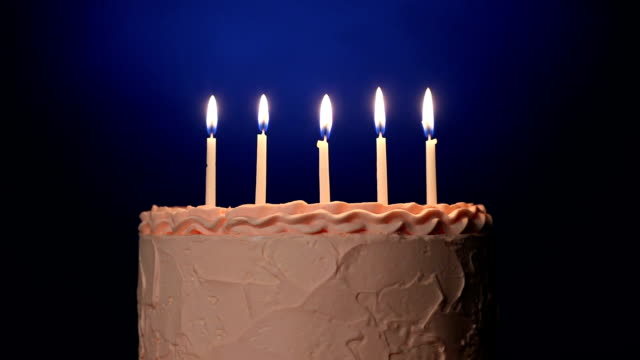 birthday cake - five objects stock videos & royalty-free footage