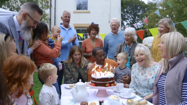 birthday celebrations - birthday cake stock videos & royalty-free footage