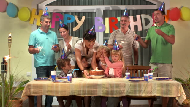 HD DOLLY: Birthday Party For Grandmother