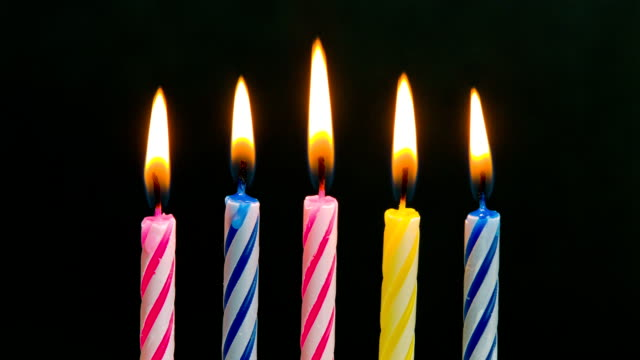 birthday - candle stock videos and b-roll footage