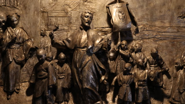 birthplace of ignatius of loyola / museum - male likeness stock videos & royalty-free footage