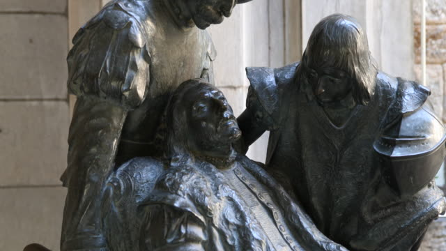 birthplace of ignatius of loyola / museum - spanish basque country stock videos and b-roll footage
