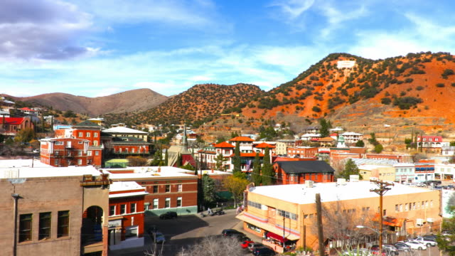 bisbee, arizona - arizona stock-videos und b-roll-filmmaterial