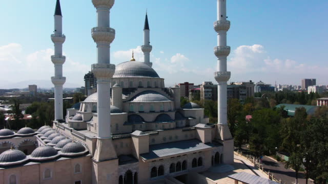 bishkek central mosque - religion stock videos & royalty-free footage