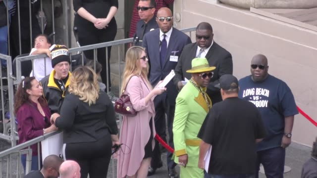 vidéos et rushes de bishop don juan big boy at snoop dogg's star ceremony on the hollywood walk of fame in hollywood in celebrity sightings in los angeles - fame