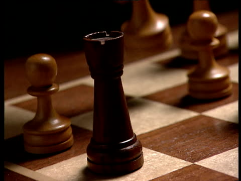 Bishop takes rook on chess board