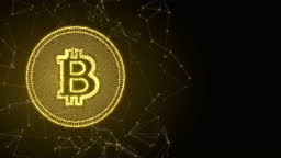 Bitcoin cryptocurrency futuristic innovation digital