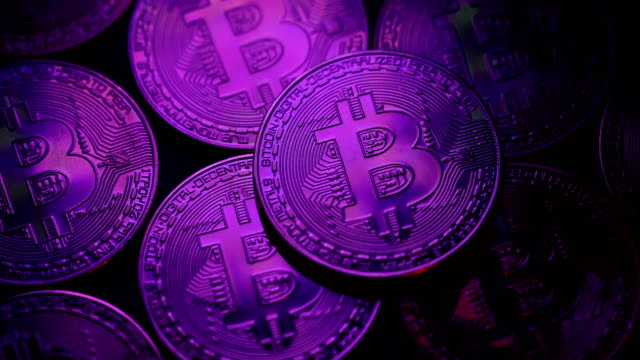 bitcoin cryptocurrency is booming - bitcoin stock videos & royalty-free footage