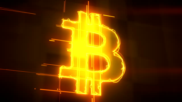 bitcoin energy lines animation loopable background