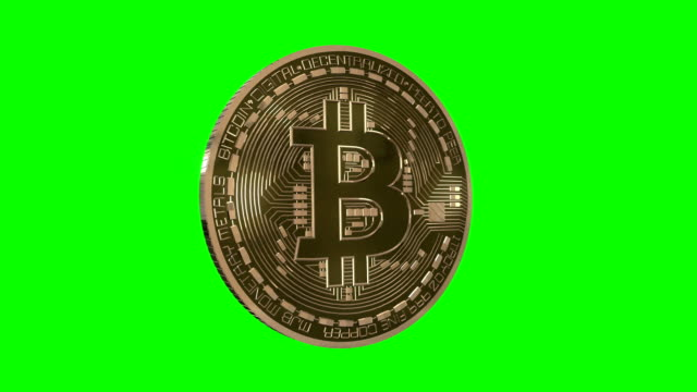 Bitcoin Spin on Green