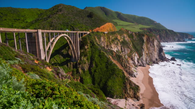 Bixby Bridge on highway One